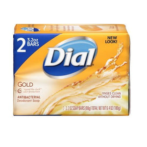 Dial Antibacterial Soap Bar (Gold)