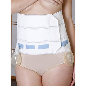 "9"" Prody Abdominal Binder with Drain Fasteners"
