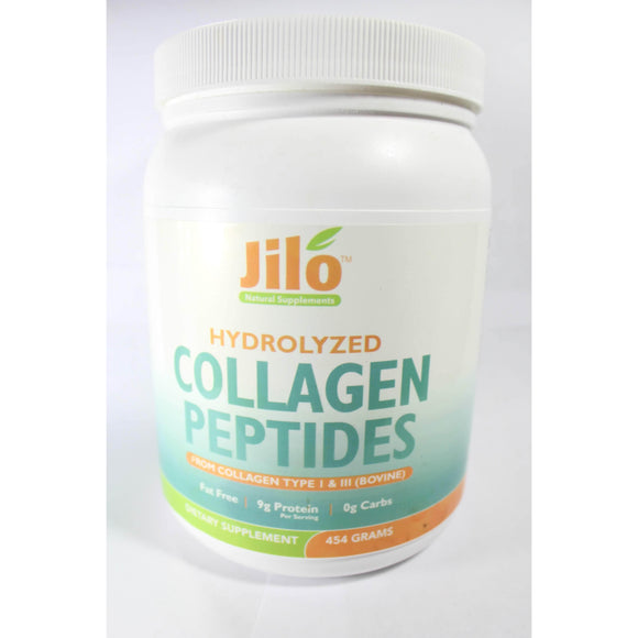 Hydrolyzed Collagen Peptides 9gProtein Powder- Type 1 & 3 Peptides Unflavored