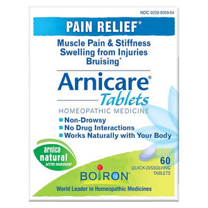 Arnica Tablets - Muscle pain & Stiffness (30x)