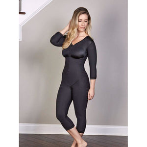 Sculptures Below the Knee Body Shaper with Sleeves