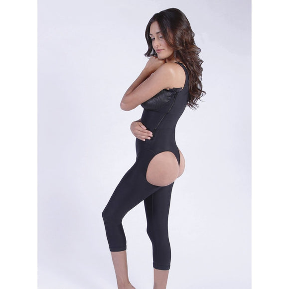 Stage 1 - Brazilian Below the Knee Body Shaper - Open Buttock
