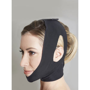 Two Strap Neck & Facial Support with Ear Openings
