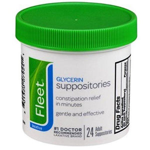 Glycerin Suppositories