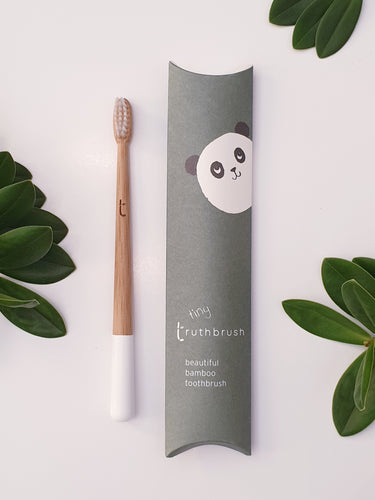 Bamboo Toothbrush - Tiny for Children - Truthbrush