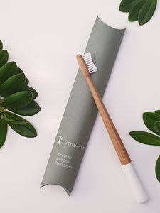 Bamboo Toothbrush - Cloud White - Truthbrush