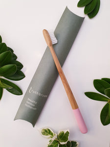 Bamboo Toothbrush - Petal Pink - Truthbrush