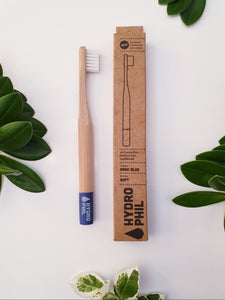 Kids Bamboo Toothbrush - Blue - Hydrophil