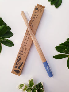 Bamboo Toothbrush - Blue - Hydrophil