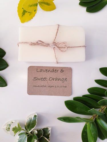 Lavender & Sweet Orange Natural & Handmade Soap Bar