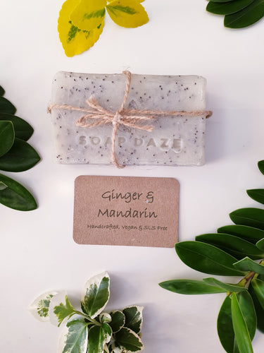 Ginger & Mandarin Natural & Handmade Soap Bar