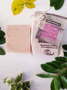 Hemp & Patchouli Shampoo Bar - Living naturally