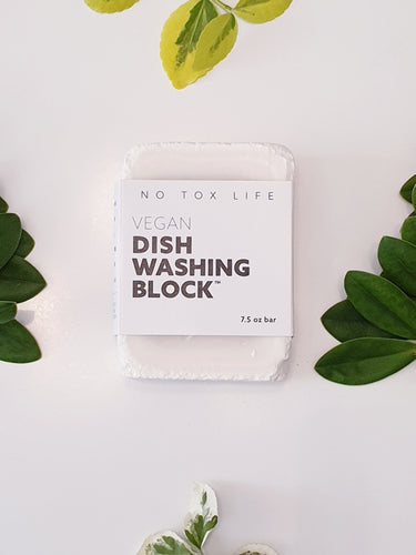 Vegan Dish Washing Block - NoTox Life
