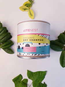 Organic Dry Shampoo for Light Hair - Kitenest
