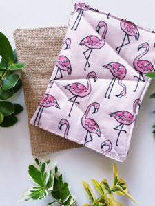 Scrubbies Unsponges - 2 Pack - Flamingo