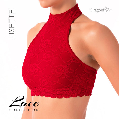 Lisette - Lace Collection Red