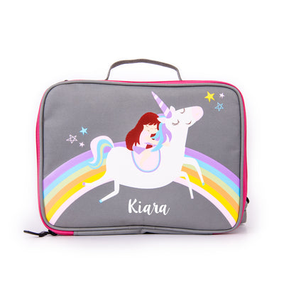 Unicorn & Rainbows Bag - Ellybean Designs