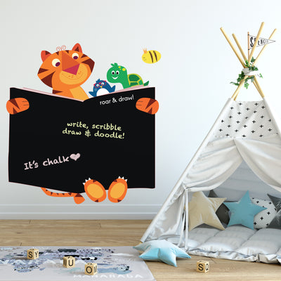 Wall stickers for kids rooms, ellybean designs, roar & draw