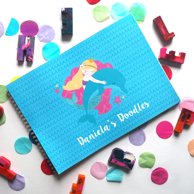Personalised Childrens Gifts, Childrens gifts in Singapore, Mermaid Themed Book