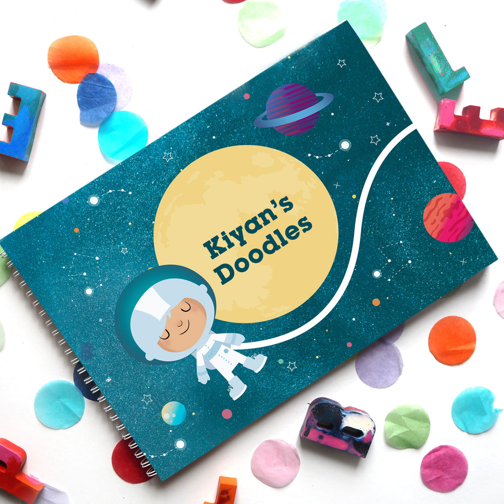 Stardust & Space Travels: Doodle Book