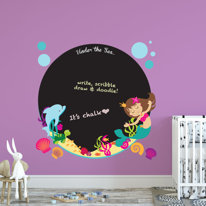 Vinyl Wall Stickers I Ellybean Designs I Under The Sea