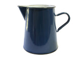 1Lt Enamel Jug / Pitcher - Blue