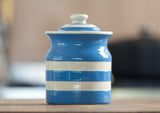Cornishware Storage Jar - Blue