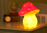 Heico Night Light - Red Toadstool
