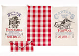 Country Mill Tea Towel - Set of 3