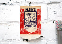 Vintage Frosted Pop Bag
