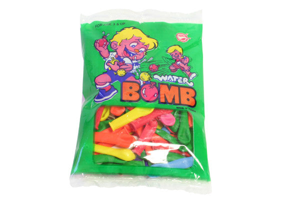 Water Bomb Balloons - 100 Pack