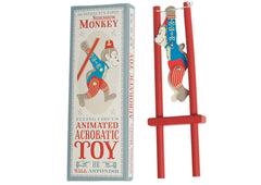 Sideshow Monkey Acrobatic Toy