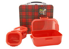 Aladdin Plaid Heritage Lunch Box