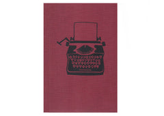 Ask Alice Hardbound Book - Typewriter