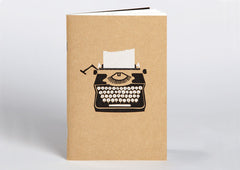 Ask Alice Notebook - Typewriter
