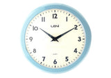 School Wall Clock - Baby Blue