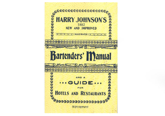 Harry Johnson's Bartenders' Manual 1882