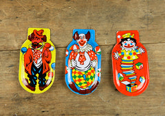 Vintage Clown Clickers - Large