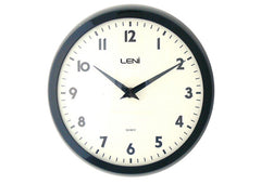 School Wall Clock - Black