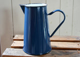 2Ltr Enamel Jug / Pitcher - Blue