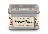 Cavallini & Co. Christmas Decorative Paper Tape - 5 Rolls