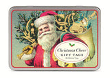 Cavallini & Co. Santa Christmas Gift Tags - Set of 36