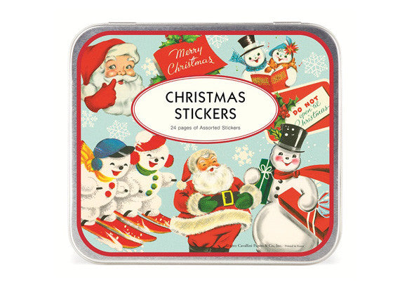 Cavallini & Co. Christmas Stickers - Set of 100