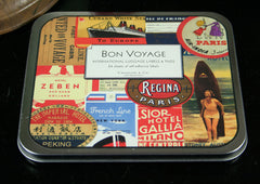 Cavallini And Co Bon Voyage Luggage Label Set