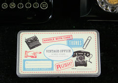 Cavallini And Co Vintage Office Stamp Set