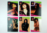 Vintage 1991 Music Super Stars Trading Card Set