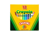 Crayola Crayons Coloured - Set of 12