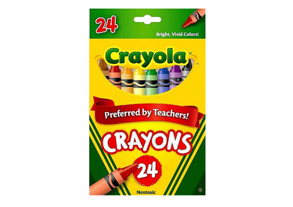 Crayola Crayons Coloured - Set of 24