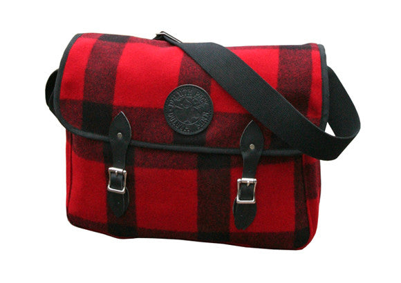 Duluth Wool Book Bag Satchel