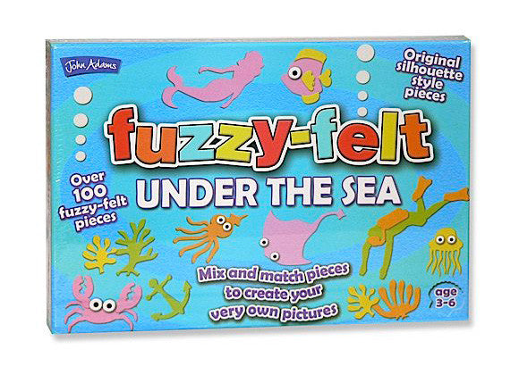Fuzzy Felt Under the Sea